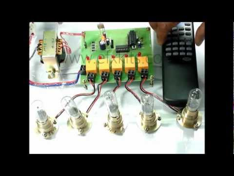 Remote control for home appliances project
