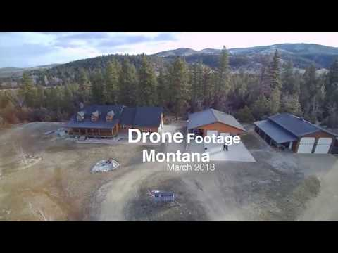 Drone Footage Of Montana and Elk Grove