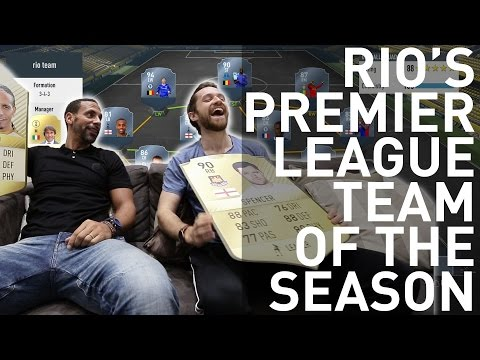 RIO'S FIFA EPL TEAM OF THE SEASON WITH SPENCER FC!