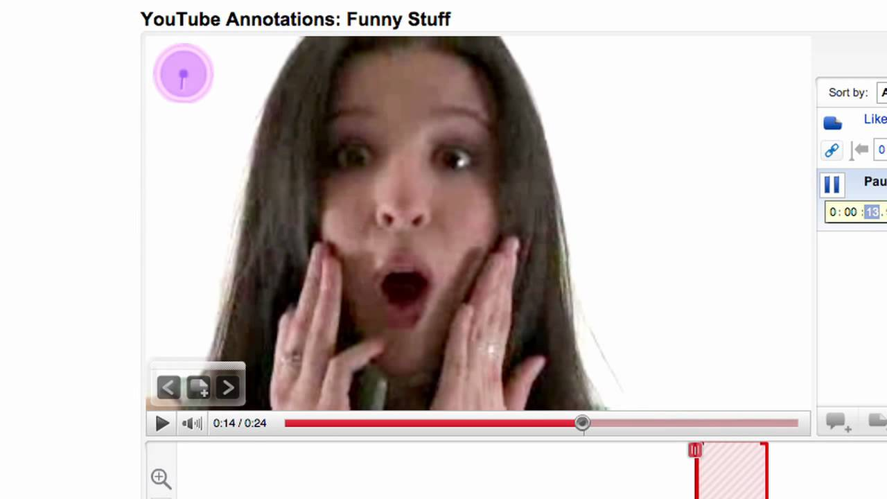 youtube spotlight annotation