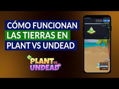 Cómo Funcionan las Tierras en Plant vs Undead - Tipos, Plantas y Rarezas