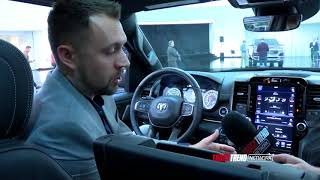 We get a closer look at the all new redesigned interior on the 2019...