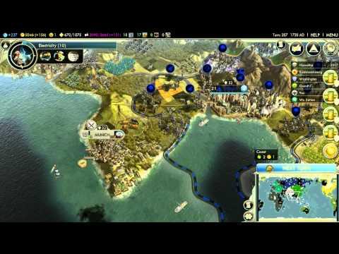 Let's Play Civilization V: Realpolitik (Deity difficulty); part 9 |