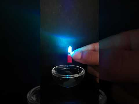 Magnesium Water Activated LED