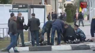 Теракт в Грозном,видео с камер наблюдения.07.10.2014.НОВОСТИ УКРАИНЫ СЕГОДНЯ,НОВОСТИ,АТО!