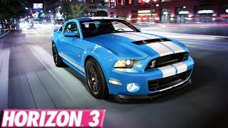 Forza Horizon 3 : 265+ MPH Ford Shelby GT500 Build