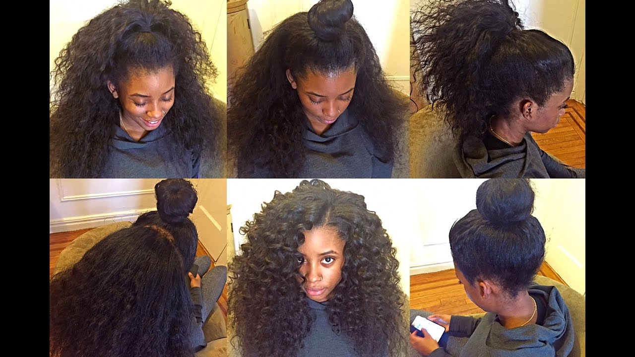 2 Part Horizontal Versatile Sew In Nyc Youtube