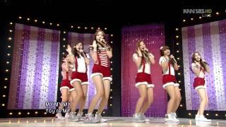 A Pink - MY MY (에이핑크-  MY MY) @SBS Inkigayo 인기가요 20111225