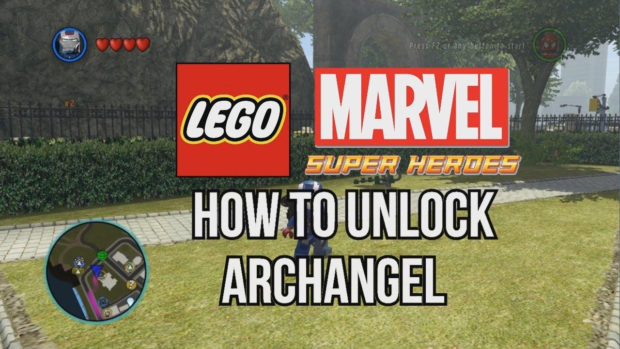 How to Unlock Archangel  LEGO Marvel Super Heroes  YouTube