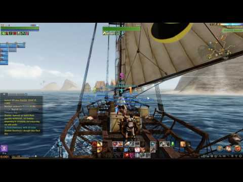 ArcheAge Trade Ship Two Crowns to Solis