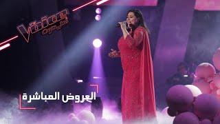 #MBCTheVoice -  العرض المباشر الأخير - دموع تقدّم أغنية 'على بالي'