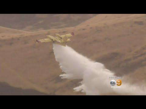 Lightning Possible Cause Of Santa Clarita Valley Brush Fires