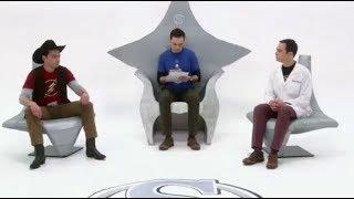 Sheldon Cooper su nueva personalidad despreocupado la teoria del big bang
