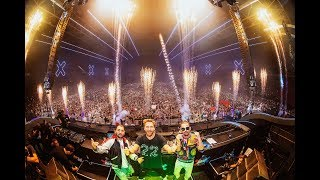 Dimitri Vegas & Like Mike b2b David Guetta - Live Set at AMF Festival 2018