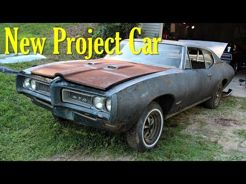 New Project Car - 1968 Pontiac GTO