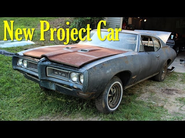 New Project Car - 1968 Pontiac GTO