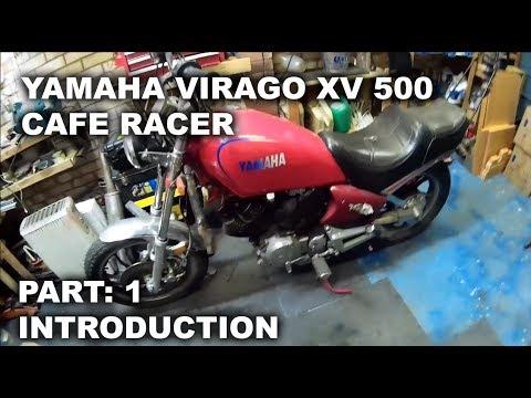 Cambridge Pinstriping, Yamaha XV 500 Custom Project - Part1, Introduction