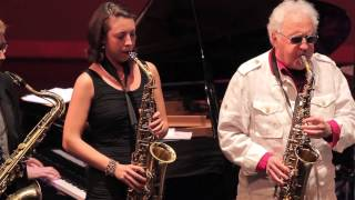 LEE KONITZ w/ Brad Linde, Sarah Hughes - 317 East 32nd Street (Tristano) - Jazz at the Atlas - 2013