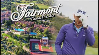 The most LUXURIOUS Hotel in San Diego; Fairmont Grand Del Mar - 5 star HOTEL, SPA, GOLF