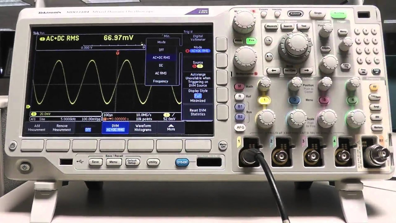 How A Frequency Counter Works : How do i use the dvm and frequency counter functions on