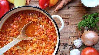 Лечо из томатов, болгарского перца, моркови и лука на зиму