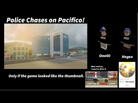 DAB! Roblox Police Chases! With One60!