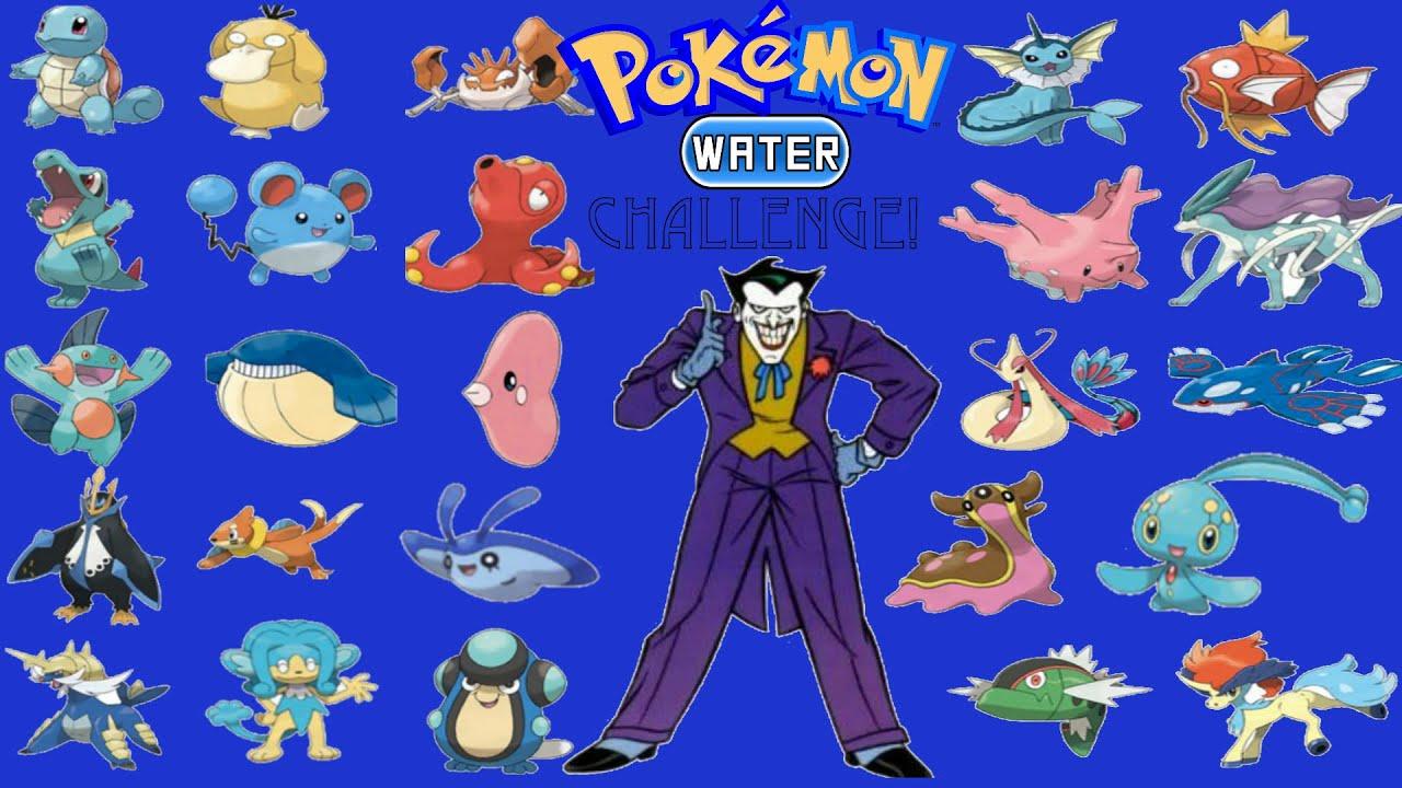 Pokemon Water Type