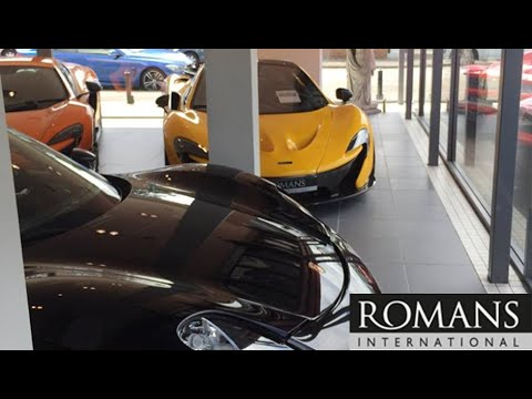 Best Supercar Showroom In England Youtube