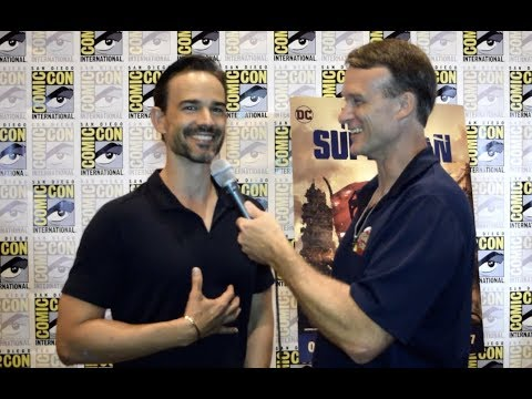 Christopher Gorham  at The Death of Superman SDCC Premiere