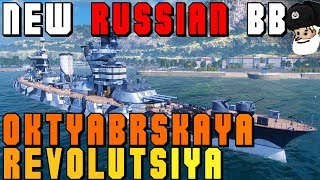 Video NEW russian BB Oktyabrskaya Revolutsiya - Gangut Class || World of Warships download MP3, 3GP, MP4, WEBM, AVI, FLV Juni 2018