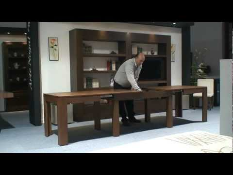 Mesa extensible de comedor. muebles artenogal   youtube