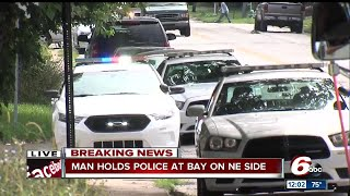 Attempt to serve civil papers turns into SWAT standoff on north side