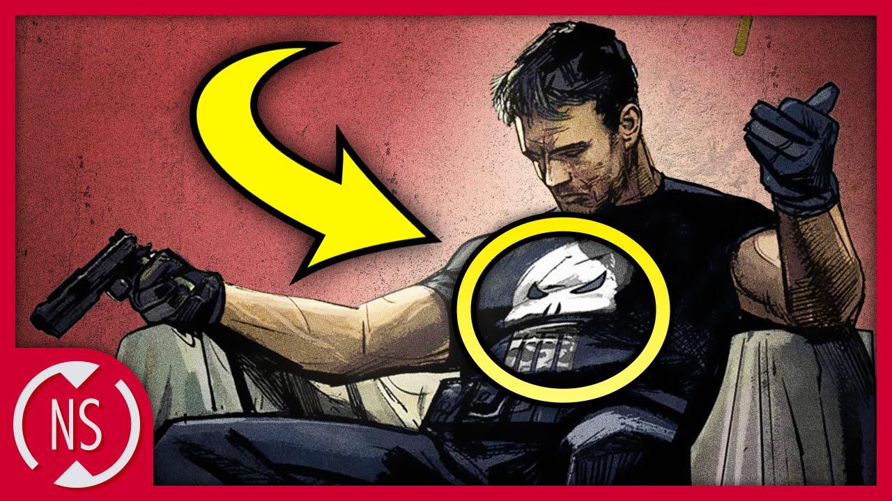 2185e102e339b Origin of The PUNISHER Skull Logo! || Comic Misconceptions || NerdSync -  YouTube