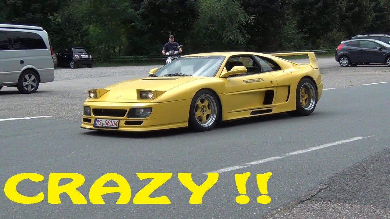 Hd 600hp Ferrari F48 Twin Turbo 335kph Topspeed Youtube