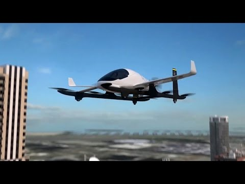Uber Invests in Plans for Electric VTOL Air Taxi Network – A