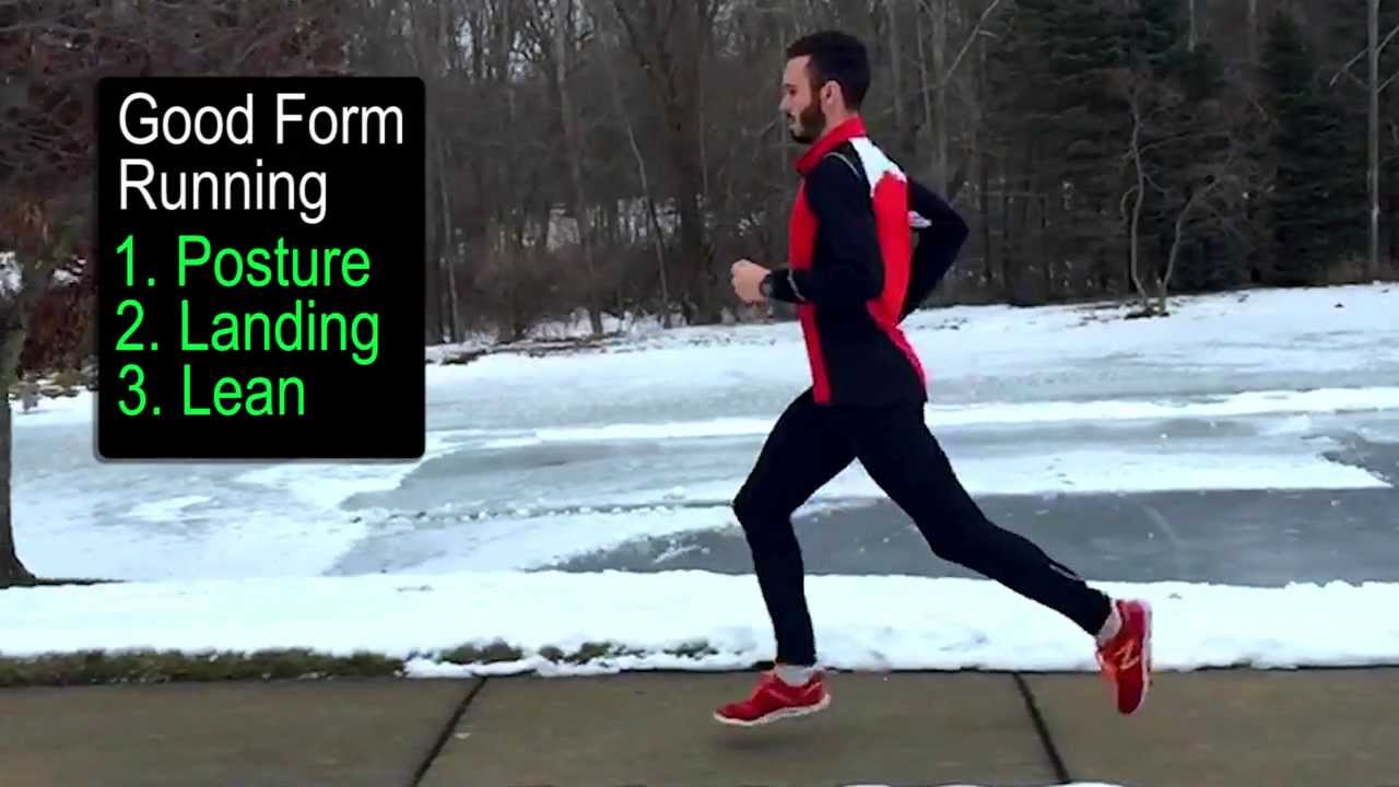 3 Points of Good Form Running - YouTube