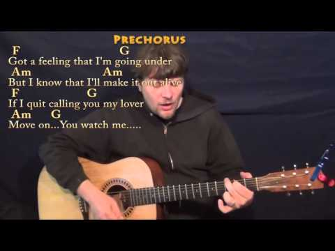 Stitches (Shawn Mendes) Strum Guitar Cover Lesson in C with Chords/Lyrics