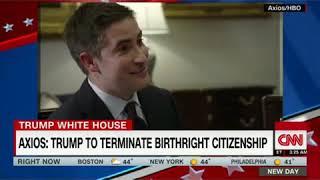 Trump ending 14th Ammendment birthright