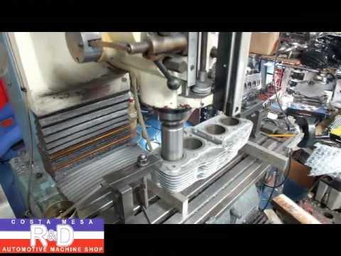 Costa Mesa Honda >> Honda CB 550 3mm Overbore for Big Bore Kit on the Prototrak DPM3 - YouTube