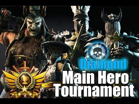 For Honor - Diamond Tournament [Main Heroes]