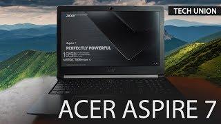 Обзор ноутбука Acer Aspire 7 | Acer A715 71G