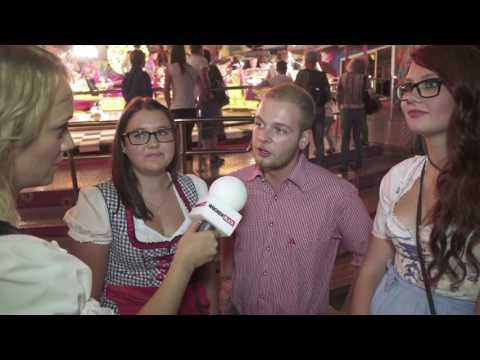 """""""Wochenblick""""-Umfrage auf dem Welser Volksfest"""
