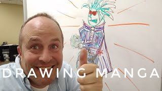 Learning To Draw Manga from a Wiki