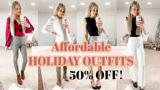 Holiday Outfits Christmas to New Years | Holiday Outfit Ideas