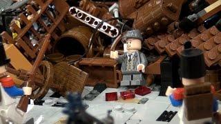LEGO Les Miserables barricade scene  BrickFair Virginia 2014