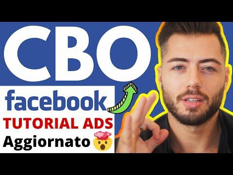 Nuova Strategia Facebook Ads CBO (Campagna Budget Optimization) [Facebook Ads CBO Tutorial ITA 2020]