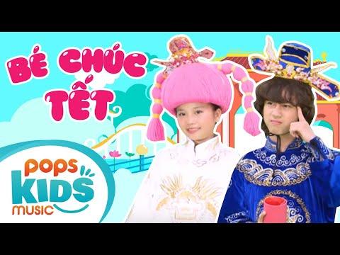Mầm Chồi Lá - Bé Chúc Tết   Nhạc Tết Thiếu Nhi Xuân   Vietnamese Kids Song