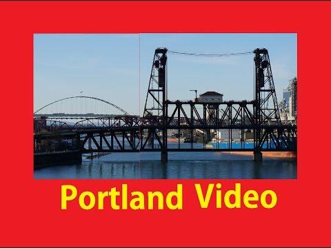Portland OR Bridges Willamette Valley River Video Walkaround