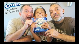 Oreo Baskin-Robbins Mint Chocolate Chip Review!