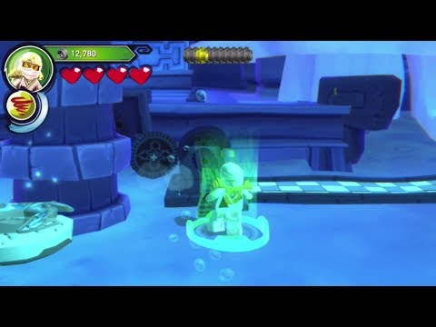 Ninjago: Shadow of Ronin (PS Vita/3DS/Mobile) The Ice Temple - Free Play